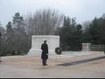 Visit the tomb of the Unknown Soldier at Arlington